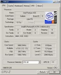 Nazivno delovanje procesorja