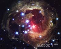 """Hubblov posnetek """"eksplozije"""" V838 Monocerotis"""