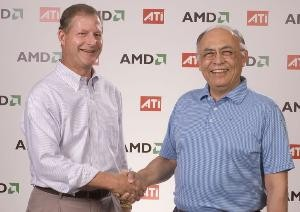 Dave Orton (ATI) in Hector Ruiz (AMD)