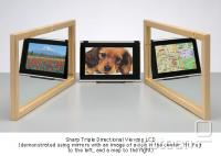 Sharp Triple Directional Viewing LCD