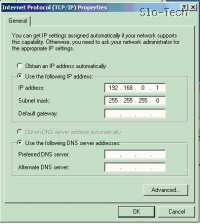 Izgledali naj bi nekako takole: -IP 192.168.0.1; -Subnet Mask (Maska podomrežja): 255.255.255.0; -ostala okna pustite prazna.