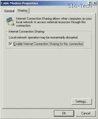 V primeru da v vašem usmerjevalniku uporabljate le eno mrežno kartico, bo okno izgledalo takole
