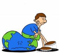 Ekološki odtis merimo v hektarjih. Danes predstavlja rodovitna površina manj kot eno četrtino površine zemlje, t.j. 10,8 milijard ha (108 000 000 km2). Ta površina vključuje 2,3 milijarde ha oceanov in 8,5 milijard ha rodovitnega kopnega