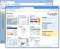 Google Chrome-ov uporabniški vmesnik