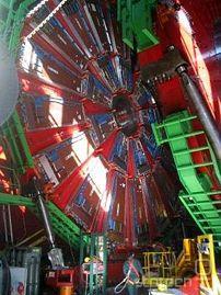 Izgradnja detektorjev v CERNu
