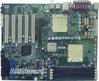 Prva plošča za Opterone z AGP režo