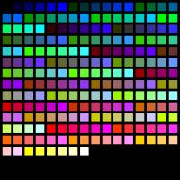 Web-safe barvna paleta