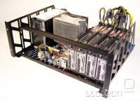 En sistem z osmimi grafičnimi in štirimi procesorskimi jedri