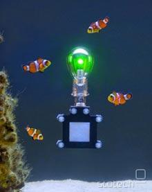 Podvodna različica napaja LED-ico