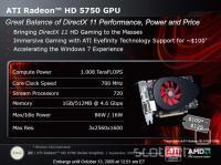 Podatki Radeona HD 5750