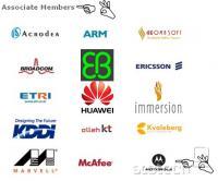V družbi z ARMom, Huaweiem, Ericssonom in podobnimi