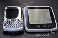 Primerjava velikosti z BlackBerryjem