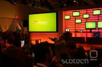 Tik pred začetkom predstavitve Windows 7