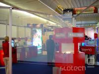 računalniška slika, projicirana na motno steklo -- kakopak, ohranjevalnik zaslona