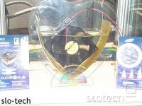 Ventilator, ki deluje tudi pod vodo radi boljšega čiščenja