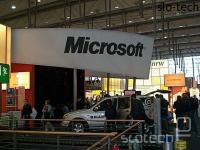 Četrtina Microsoftovega štanta