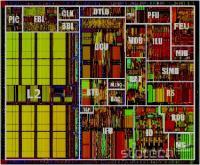 Takole izgledajo vsi opisani deli procesorja pod mikroskopom