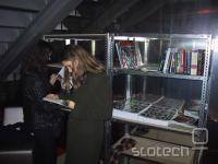 Kiberpipina zastonj knjižnica v uporabi