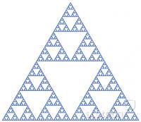 serpinski trikotnik