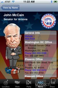 Karikiran John McCain s svojimi kontakti