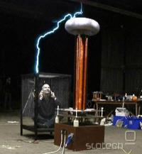 Kletka ni ovira le za elektriko, temveč tudi elektromagnetno valovanje