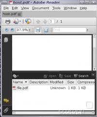 Vključen PDF v osnovnem PDF-ju