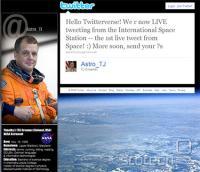 Prvi tweet iz vesolja