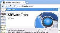 Iron prav tako uporablja kodo projekta Chromium