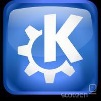 KDE logo, vir: http://kde.org