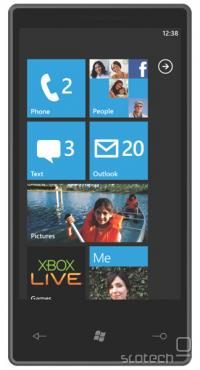 Windows Phone 7 Series na prototipnem aparatu
