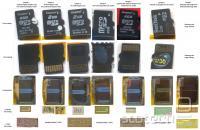 Primerjava spominskih kartic