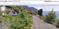 Posnetek Google Street Viewa iz Italije