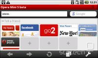 Opera Mini 5 beta za Android
