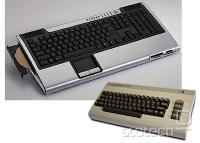 Cybernetov ZPC-GX31 levo, originalni Commodore 64 desno