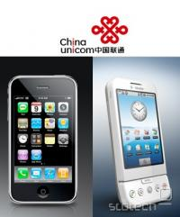 V naboru China Unicom je poleg Androida tudi iPhone