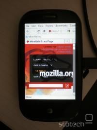 Firefox na Preju