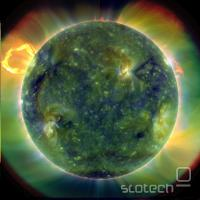 SDO extreme UV