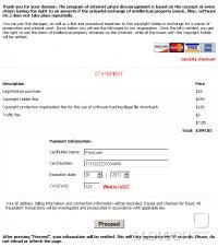 Spletna amnestija s pomočjo vaše kreditne kartice