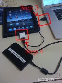 Podatkovna povezava z iPadom, električna z MacBookom