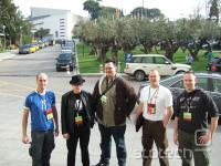 BlackHatEU (L to R): Peter Van Eeckhoutte, FX, Atilla, Xavier Mertens, Christiaan Beek Vir: ate