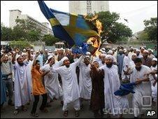 Protesti proti Facebooku v Bangladešu