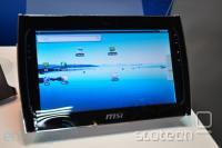 WindPad 110, zaenkrat še z običajnim Androidom 1.6