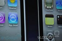 Višja ločljivost zaslona se pokaže v večji 'gladkosti' ikon in teksta