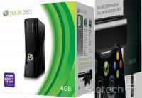 Slika, ki nakazuje trdi disk kot razširitev ugodnejšega Xboxa