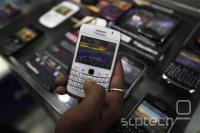 BlackBerry v trgovini v Kalkuti