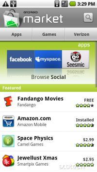 Android Market - za nas Slovence zgolj brezplačen