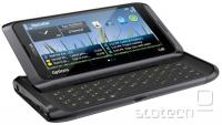 Nokia E7 v črni barvi