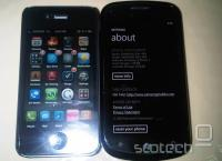 iPhone 4 na levi, SGH-i916 na desni
