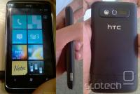 Telefon HTC Spark na katerega je nameščen Windows Phone 7