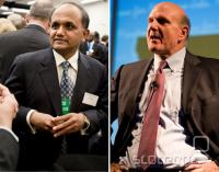 Shantanu Narayen iz Adoba in Steve Ballmer iz Microsofta